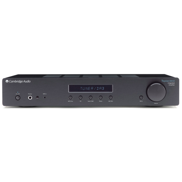 Стереоусилитель Cambridge Audio Topaz AM10 Black cd проигрыватель cambridge audio topaz cd10 black