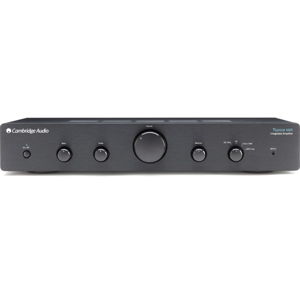 Стереоусилитель Cambridge Audio Topaz AM5 Black саундбар cambridge audio tvb2 v2 black