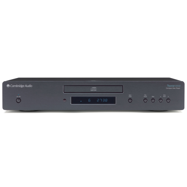 CD проигрыватель Cambridge Audio Topaz CD10 Black cd проигрыватель t a music player balanced black