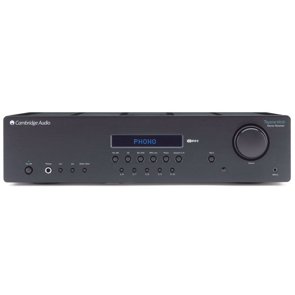 Стереоресивер Cambridge Audio Topaz SR20 Black cambridge audio minx ca600p black