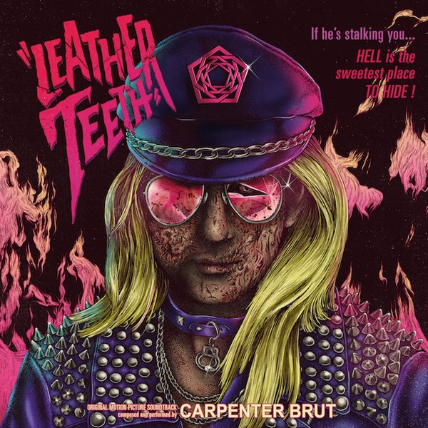 Carpenter Brut Carpenter Brut - Leather Teeth free case 10 teeth 35 teeth texturizing