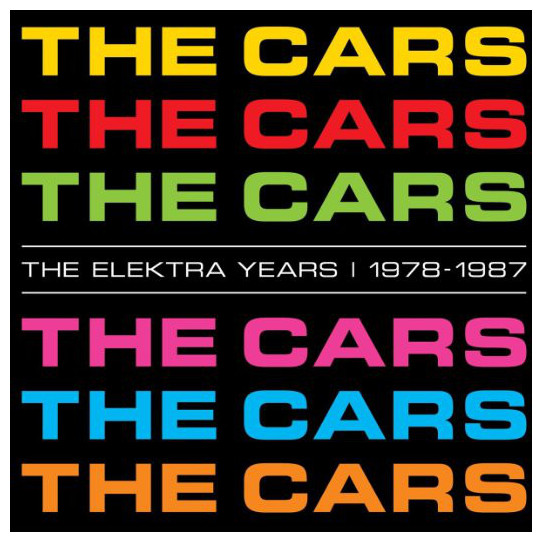 CARS CARS - The Elektra Years 1978 -1987 (6 LP) kinderline cars crbb rt2 836m