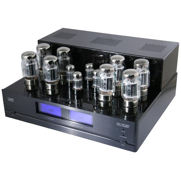 Ламповый стереоусилитель мощности Cary Audio Design CAD 120S Black стереоусилитель cambridge audio cxa 80 851n black