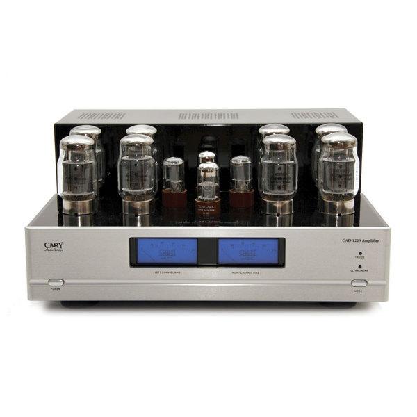 Ламповый стереоусилитель мощности Cary Audio Design CAD 120S Silver стереоусилитель cary audio design si 300 2d black
