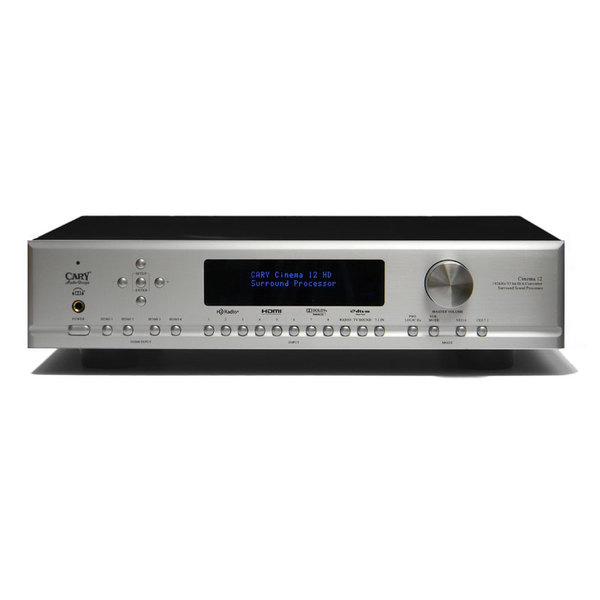 AV процессор Cary Audio Design Cinema 12 Silver внешний цап cary audio design dac 100t black