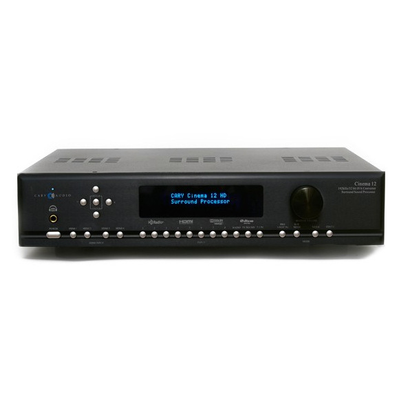AV процессор Cary Audio Design Cinema 12 Black внешний цап cary audio design dac 200ts silver