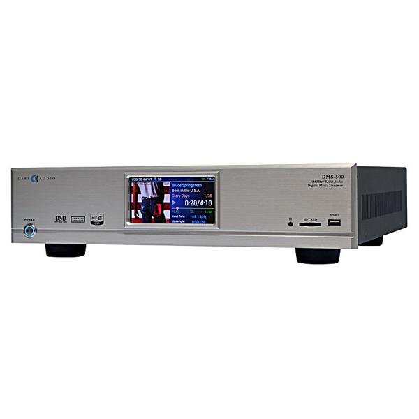 Сетевой проигрыватель Cary Audio Design DMS-500 Silver внешний цап cary audio design dac 200ts silver