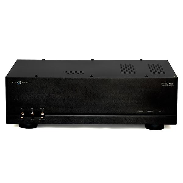 Ламповый фонокорректор Cary Audio Design PH 302 MkII Black ламповый усилитель spark mt 35 mk2 mkii new