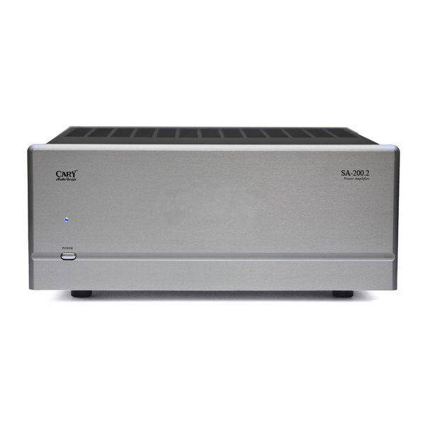 Стереоусилитель мощности Cary Audio Design SA-200.2 Silver стереоусилитель cary audio design si 300 2d black