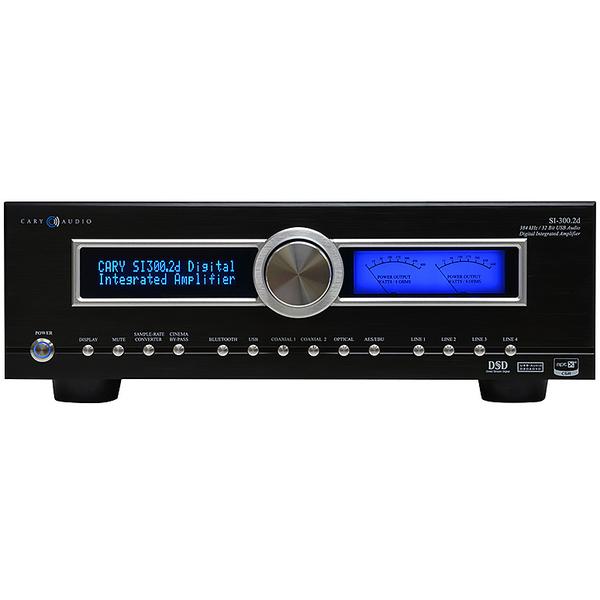 Стереоусилитель Cary Audio Design SI-300.2D Black стереоусилитель cary audio design si 300 2d black