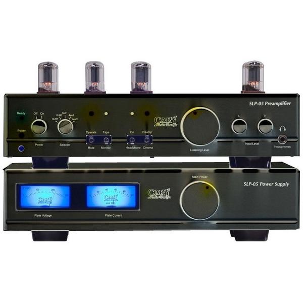 Ламповый предусилитель Cary Audio Design SLP 05 Black ламповый предусилитель octave hp 300 se black