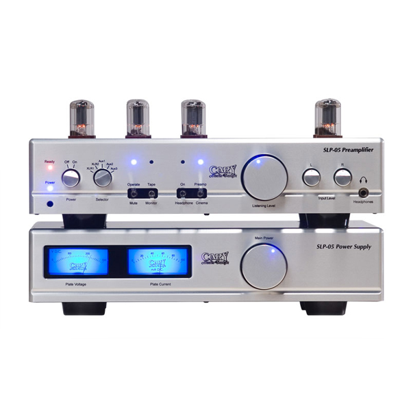 Ламповый предусилитель Cary Audio Design SLP 05 Silver внешний цап cary audio design dac 200ts silver