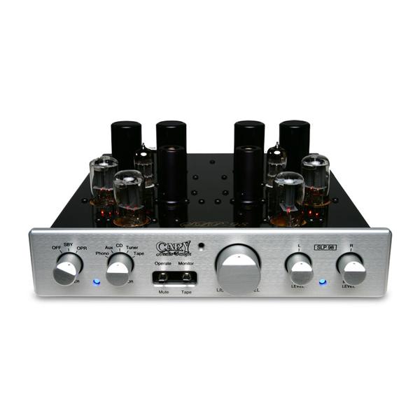 Ламповый предусилитель Cary Audio Design SLP 98L Silver внешний цап cary audio design dac 200ts silver