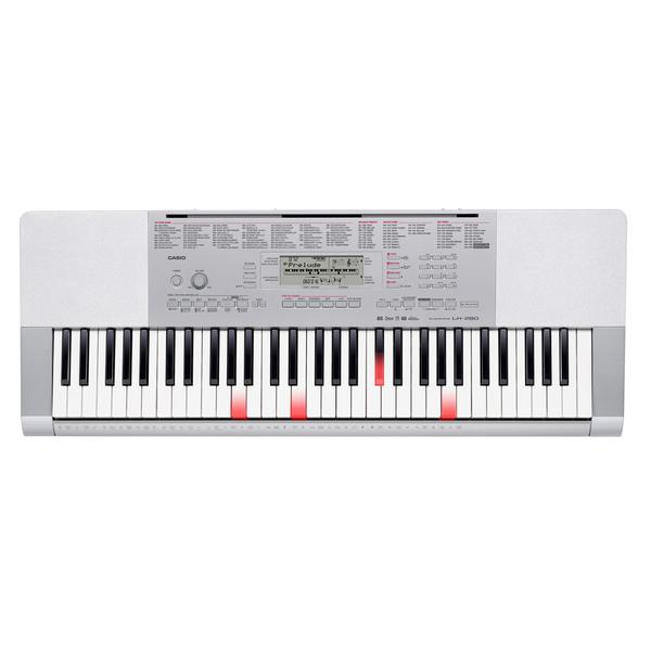 Синтезатор Casio LK-280 музыкальный инструмент детский doremi синтезатор 37 клавиш с дисплеем