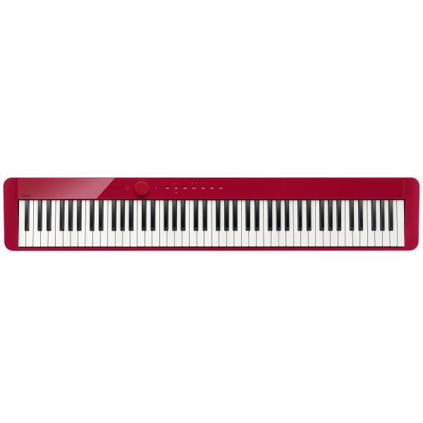 Фото - Цифровое пианино Casio Privia PX-S1000RD цифровое фортепиано casio privia px 870bn 88клав коричневый