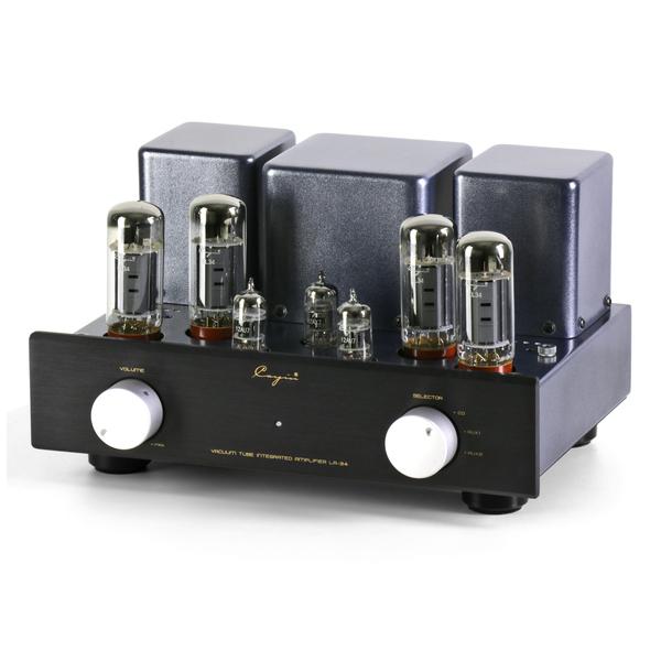 Ламповый стереоусилитель Cayin LA-34 (EL34) Black ламповый стереоусилитель cayin cs 100a el34 silver