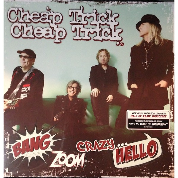 Cheap Trick Cheap Trick - Bang Zoom Crazy…hello cheap trick cheap trick on top of the world 1978 live broadcast 2 lp
