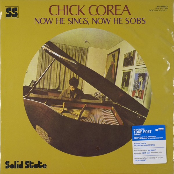 Chick Corea - Now He Sings, Sobs