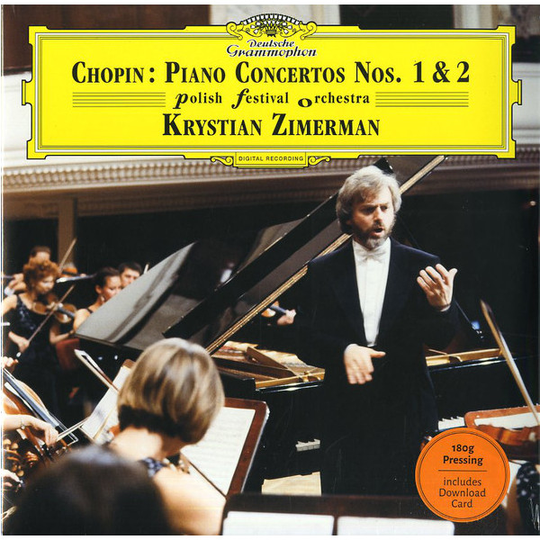 Chopin ChopinKrystian Zimerman - : Piano Concertos Nos. 1 2 (180 Gr, LP)
