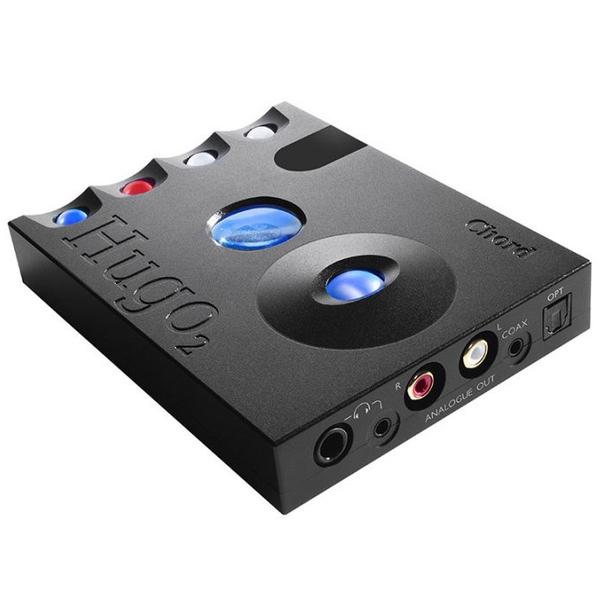 Внешний ЦАП Chord Electronics Hugo 2 Black усилитель для наушников chord electronics mojo black