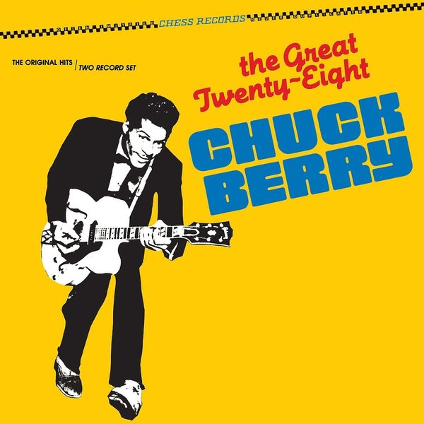 Chuck Berry Chuck Berry - The Great Twenty-eight (2 LP) магнитола philips az3831 12
