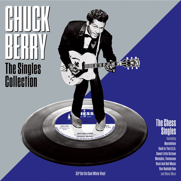 Chuck Berry Chuck Berry - The Singles Collection (3 Lp, Colour) cream cream the singles 1967 1970 10 lp