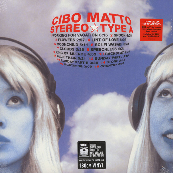 Cibo Matto Cibo Matto - Stereo Type A (2 Lp, 180 Gr) new lp spirit o l1 mini stereo hifi audio amplifier pure class a computer desktop home power amp 2 0 bile machine silver