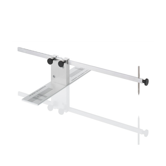 Фото - Товар (аксессуар для винила) Clearaudio Инструмент для выравнивания тонарма Cartridge Alignment Gauge инструмент