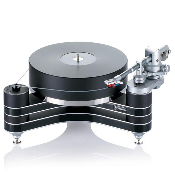 Виниловый проигрыватель Clearaudio Innovation Black проигрыватель виниловых дисков denon dp 400