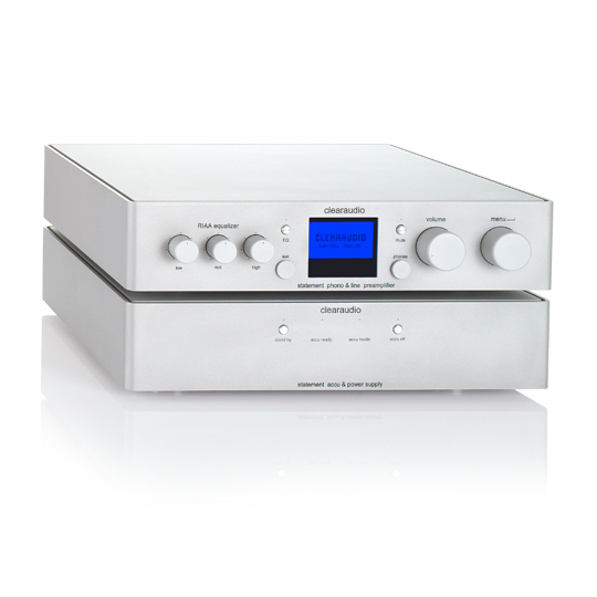 Фонокорректор Clearaudio Statement Phono Silver