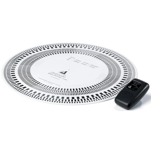 Фото - Товар (аксессуар для винила) Clearaudio Стробоскопический диск + лампа Stroboscope Test Record диск