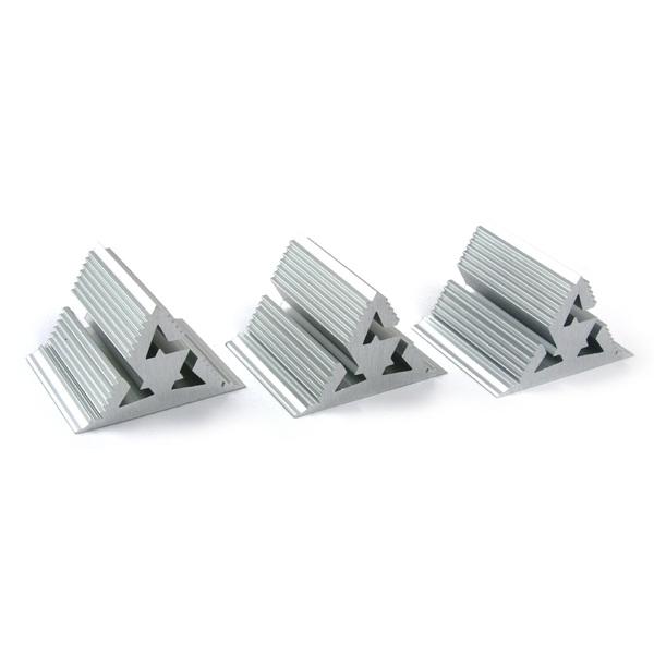 Фрактальный диффузор Cold Ray Fractal 7 Silver (комплект 3 шт.) стойка для акустики cold ray s6 silver tube birch
