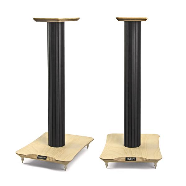 Стойка для акустики Cold Ray S6 SM Black Tube/Walnut фрактальный диффузор cold ray fractal 7 red комплект 3 шт