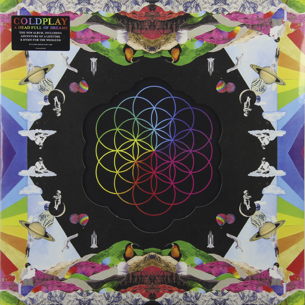 Coldplay Coldplay - A Head Full Of Dreams (2 LP) coldplay – ghost stories lp