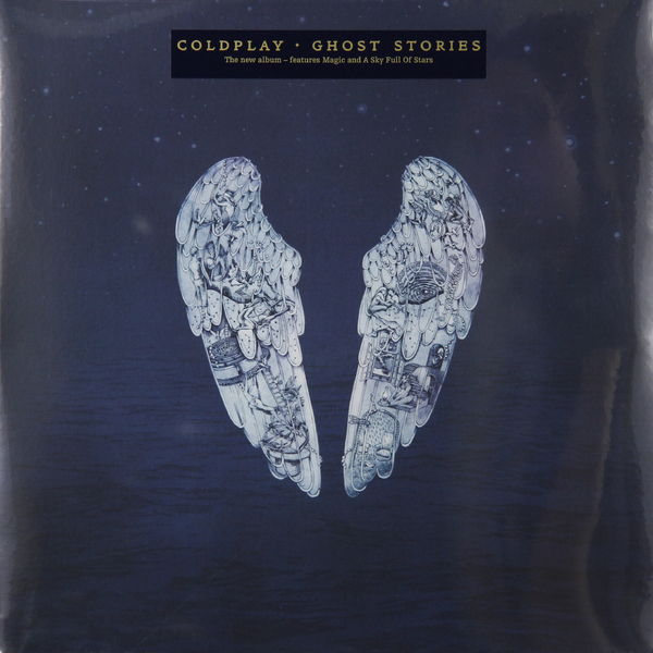 Coldplay Coldplay - Ghost Stories illustrated ghost stories
