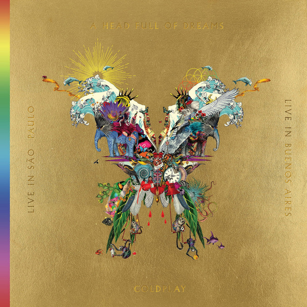 Coldplay Coldplay - Live In Buenos Aires / Live In Sao Paulo / A Head Full Of Dreams (3 Lp+2 Dvd) coldplay dvd collector s box 2 dvd