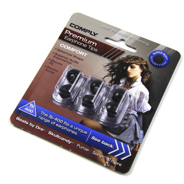 Амбушюры для наушников Comply TS-400 BLK-M (3 пары)