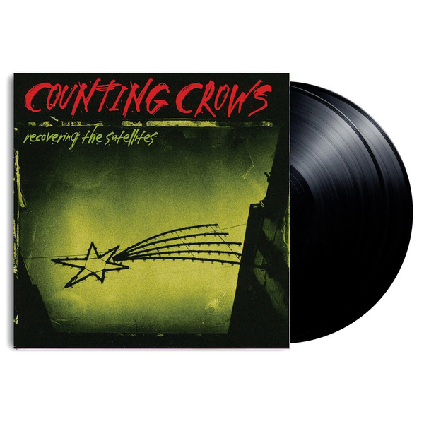 Counting Crows Counting Crows - Recovering The Satellites (2 LP) 1pcs new manual hand coil counting winding winder machine for thick wire 2 5mm