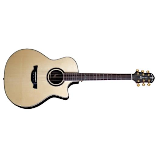 Гитара электроакустическая Crafter LX G-3000ce Natural фото