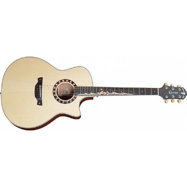 Гитара электроакустическая Crafter ML G-MAHOce Natural