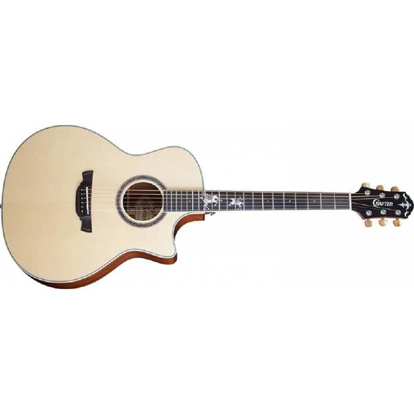 Гитара электроакустическая Crafter PG G-MAHOce Natural