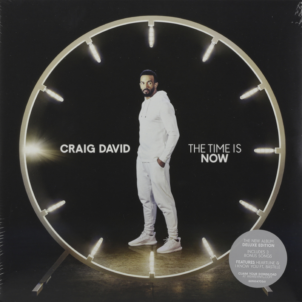 лучшая цена Craig David Craig David - The Time Is Now (2 LP)
