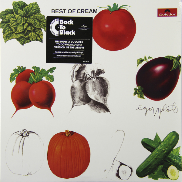 CREAM CREAM - Best Of (180 Gr) фото