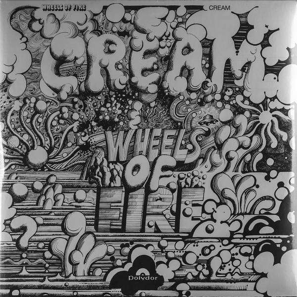 CREAM CREAM - Wheels Of Fire (2 LP) cream cream the singles 1967 1970 10 lp