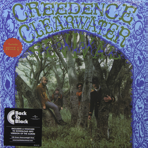 Creedence Clearwater Revival Creedence Clearwater Revival - Creedence Clearwater Revival (180 Gr) виниловая пластинка creedence clearwater revival mardi gras