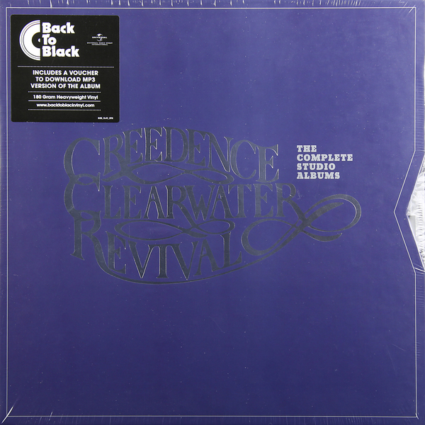 Creedence Clearwater Revival Creedence Clearwater Revival - The Complete Studio Albums (7 Lp, 180 Gr) creedence clearwater revival – willy and the poor boys lp