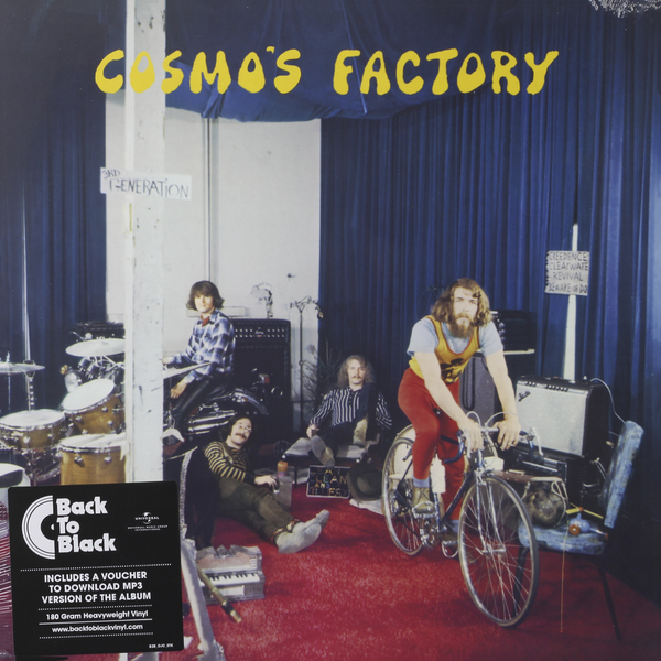 Creedence Clearwater Revival Creedence Clearwater Revival - Cosmo's Factory (180 Gr) skrillex лил вэйн twenty one pilots g eazy эминем panic at the disco creedence clearwater revival action bronson марк ронсон дэн ауэрбах suicide squad the album