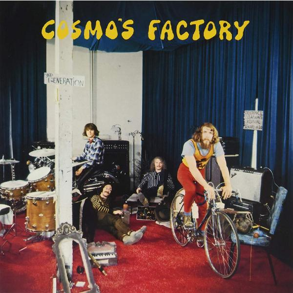 цена Creedence Clearwater Revival Creedence Clearwater Revival - Cosmo's Factory (colour)