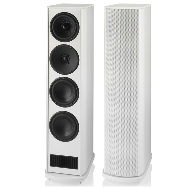 Напольная акустика T+A Criterion TCD 315 S High Gloss White активный сабвуфер t a tcd 610 w cherry