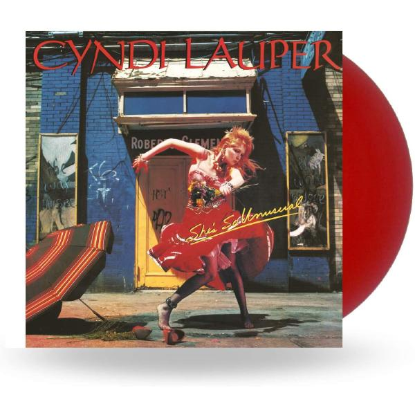 Cyndi Lauper - Shes So Unusual (limited, Colour)